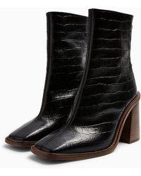 b5ee8f3d6b Women's TOPSHOP Boots Online Sale - Lyst