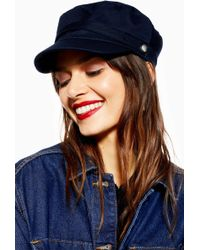 e982624dda293 Lyst - TOPSHOP Transitional Bowler Hat in Green