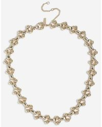 TOPSHOP - ball Linked Chain Necklace - Lyst