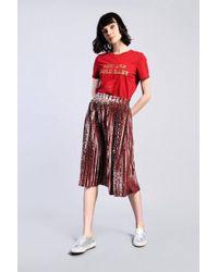 Glamorous - leopard Velvet Skirt By - Lyst