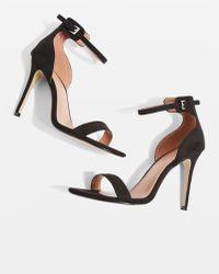 TOPSHOP - Marcelle Two Part Sandals - Lyst