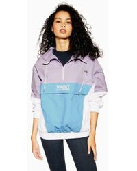 701fa10c Tommy Hilfiger - Colour Block Winderbreaker Jacket By Tommy Jeans - Lyst