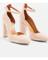 TOPSHOP - Gracie Buckle Detail Shoes - Lyst