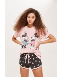 TOPSHOP - Minnie And Mickey Vintage Set - Lyst
