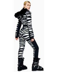 TOPSHOP - Zebra Snow Suit By Sno - Lyst