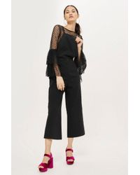 TOPSHOP - Moto Strappy Dungarees - Lyst