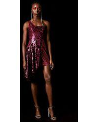 TOPSHOP - Sequin Asymmetric Dress By X Halpern - Lyst