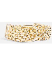 TOPSHOP - Gold Chain Link Belt - Lyst