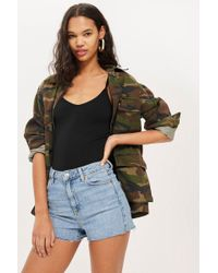 TOPSHOP - Textured Strappy Body - Lyst