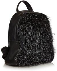 Skinnydip London - charlie Black Tinsel Backpack By Skinnydip - Lyst