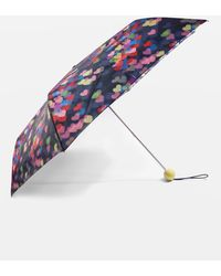 TOPSHOP - Blurred Heart Print Umbrella - Lyst