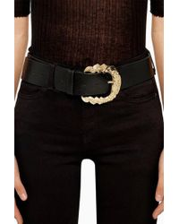 TOPSHOP - Ornate Buckle Belt - Lyst