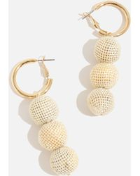 Skinnydip London - Yellow Knitted Earrings By Skinnydip - Lyst
