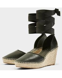 TOPSHOP -  Wide Fit Williams Espadrille Wedges - Lyst