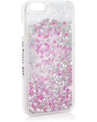 TOPSHOP - Pink Confetti Iphone - Lyst
