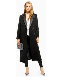 TOPSHOP - Tuxedo Coat - Lyst