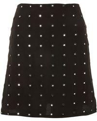 Wyldr - Cast No Shadow Mirror Work Skirt By - Lyst