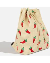 TOPSHOP - Chilli Raff Backpack By Skinnydip - Lyst