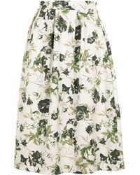 Wal-G - Floral Co-ord Pleated Midi By - Lyst
