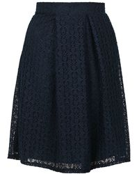 Wal-G - Co-ord Lace Midi Skirt By - Lyst