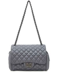 Marc B. | Quilted Grey Cross Body Bag By | Lyst