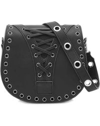Marc B. - Black Saddle Handbag By - Lyst