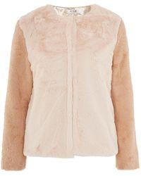 Wyldr | Heidi Faux Fur Jacket By | Lyst
