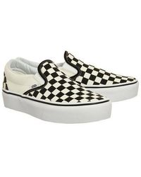 46e55294581 Vans Authentic Classic Grey White Lace Up Trainers in Gray - Lyst