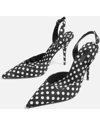 TOPSHOP - Gastro Long Point Sandals - Lyst