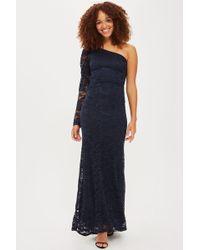 TFNC London | Laliana One Shoulder Lace Maxi Dress By | Lyst