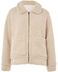 Native Youth - Patch Pocket Teddy Coat By Native Youth - Lyst