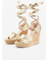 TOPSHOP - Winona Classic Wedges - Lyst