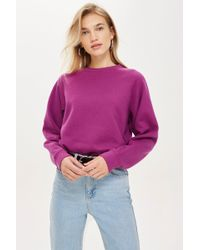 TOPSHOP - Petite Everyday Sweatshirt - Lyst