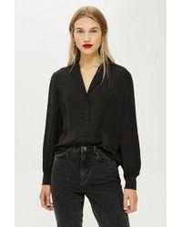 TOPSHOP - Long Sleeve Shirt - Lyst