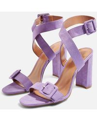 TOPSHOP - Sazzle Two Part Sandals - Lyst