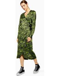 TOPSHOP - alligator Midi Dress By Boutique - Lyst