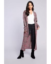 TOPSHOP - multi Knitted Cardigan By - Lyst