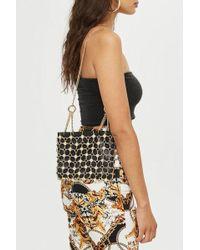 TOPSHOP - Multi Chain Shoulder Bag - Lyst