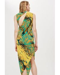 TOPSHOP - Sleeveless Spiral Dress By Boutique - Lyst