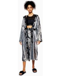 TOPSHOP - Sequin Boxing Robe By Ivy Park - Lyst