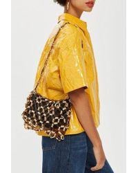 TOPSHOP - Sabina Link Shoulder Bag - Lyst
