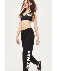 TOPSHOP - Logo Joggers By Ivy Park - Lyst