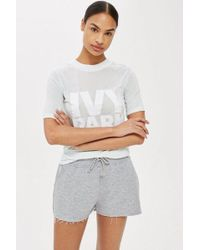 Ivy Park - Logo Fitted T-shirt By - Lyst