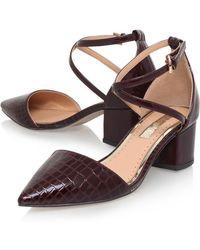 John Lewis - Miss Kg Ava Block Heeled Court Shoes - Lyst