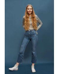 2967eaca3b9 TOPSHOP Moto Vintage Boyfriend Jeans in Blue - Lyst