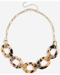 TOPSHOP - resin Link Collar - Lyst
