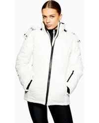 06c08470d1b4 Women's TOPSHOP Casual jackets On Sale - Lyst