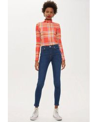 TOPSHOP - Leigh Jeans - Lyst