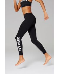 Ivy Park - Full Length Logo Leggings By - Lyst
