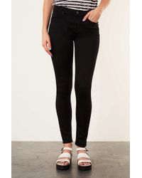 TOPSHOP - Petite Moto Leigh Jeans - Lyst